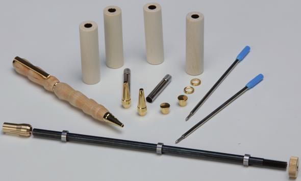 Penmaker - Aufnahmedorn mit 2 Kuli