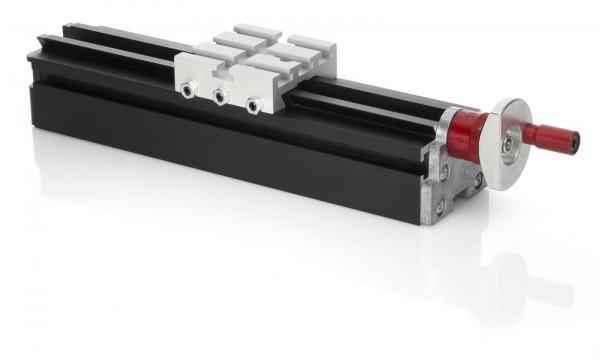 Längsschlitten ML 200 mm + drehbarer Griff*