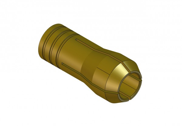 Messingspannzangen, 1 mm 162 460 10 [U12ML01]