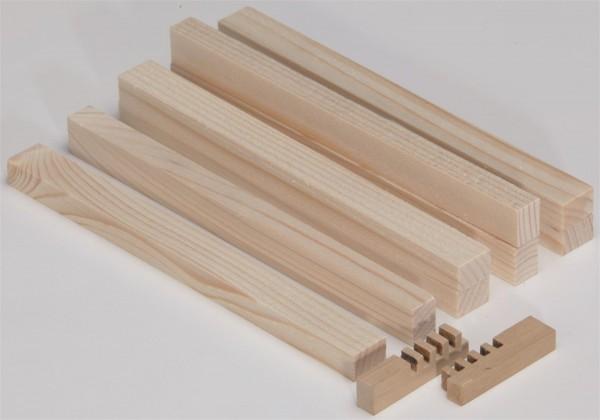 Holzleisten 30 Stk.