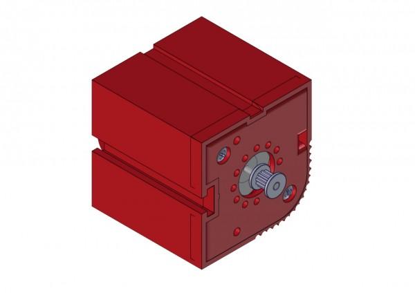 Motorgehäuse, rot A1A 100 010